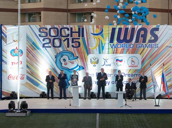 Всемирные игры IWAS-2015 торжественно открыты в Сочи!