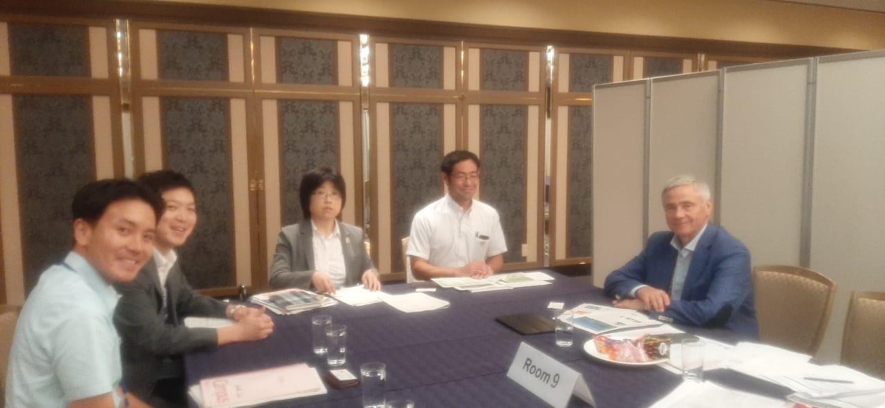 П.А. Рожков в г. Токио (Япония) встретился с Председателями кабинета министров Японии, отвечающих за подготовку Олимпийских и Паралимпийских игр 2020 года в г. Токио (Япония)
